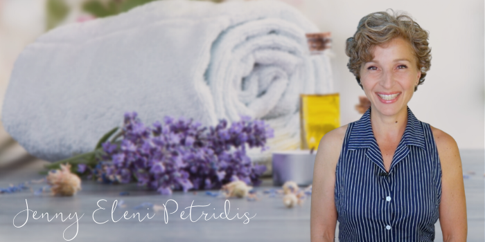 jenny petridis bowen therapist with massage table